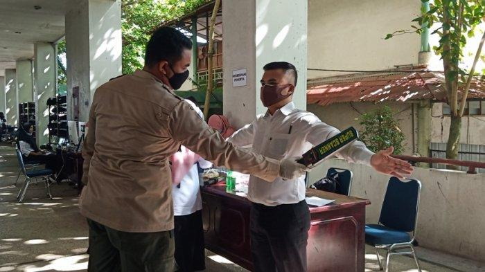 Dua Peserta Ujian SKD CPNS Padang 2021 Hari Ini Positif Covid-19