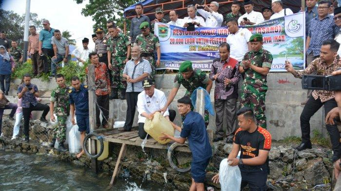 Ikan Bilih Terancam Punah, Wagub Sumbar Nasrul Abit:5000 Nelayan Gantungkan Hidup di Danau Singkarak