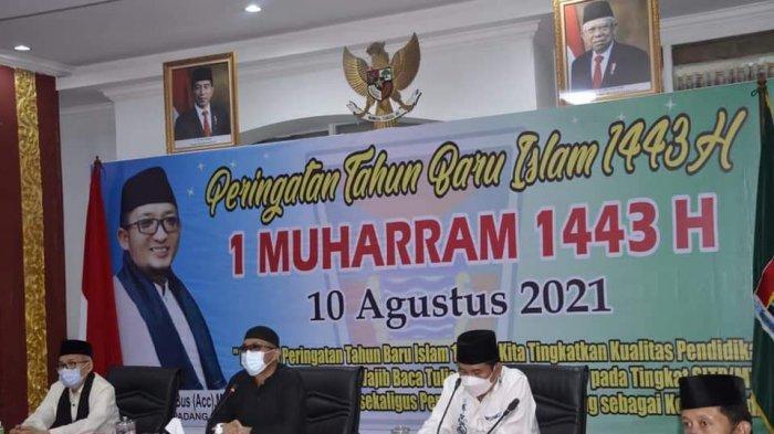 Rayakan Tahun Baru Islam 1443 H Pemko Padang Gelar Tabligh Akbar Virtual