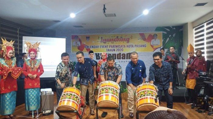 Pemko Padang Launching Kalender Event Pariwisata 2020, Ditargetkan 5 Juta Wisatawan Berkunjung
