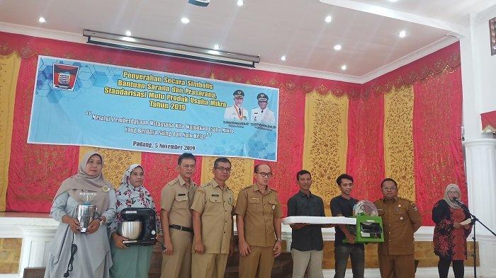 473 Pelaku Usaha Mikro Mendapatkan Bantuan dari Pemerintah Kota Padang