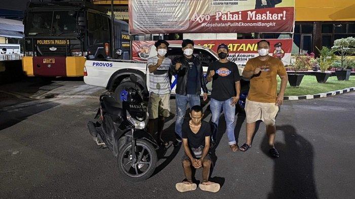 Jual Motor Curian secara Online, Pria di Padang Ditangkap Polisi saat COD