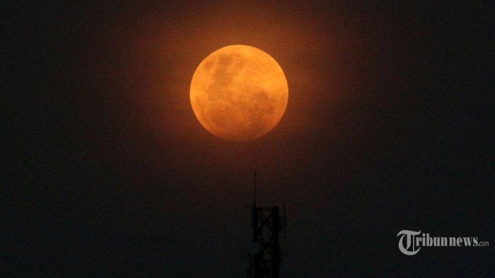 Gerhana Bulan Total Rabu 26 Mei 2021, Super Blood Moon di Langit Indonesia Bisa Dilihat Langsung