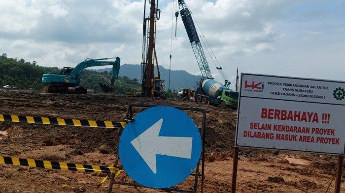 UPDATE: Mengintip Kondisi Jalan Tol Padang-Pekanbaru Seksi Padang-Sicincin Setelah Heboh Dihentikan