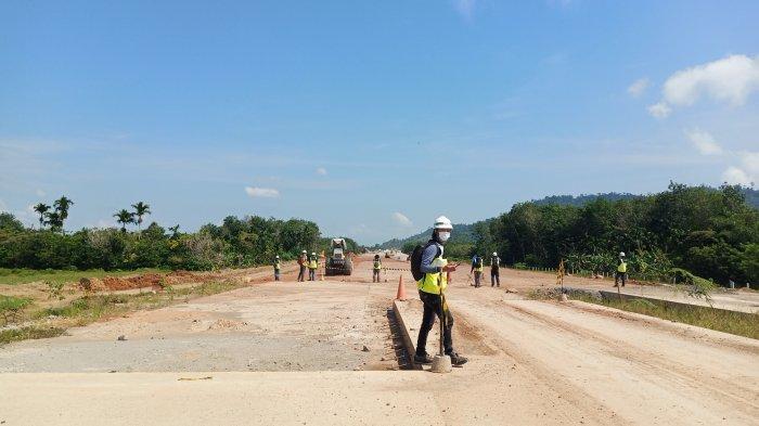 Proyek Jalan Tol Padang-Pekanbaru Ruas Sicincin-Padang Berlanjut, Konstruksi Sudah Capai 40,58%