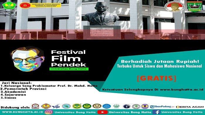UPDATE Festival Film Pendek Bung Hatta Muda - Ayo! Daftar Sebelum Ditutup 31 Juli 2021 Mendatang