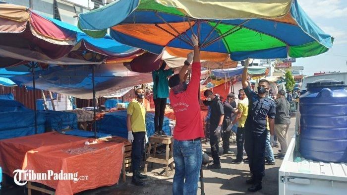 Pasar Raya Padang Ditutup Selama 5 Hari, Begini Reaksi Pedagang hingga Sopir Angkot