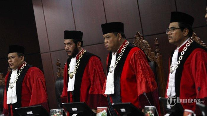 Berikut Profil Sembilan Hakim MK yang Akan Menangani Sengketa Pilpres 2019