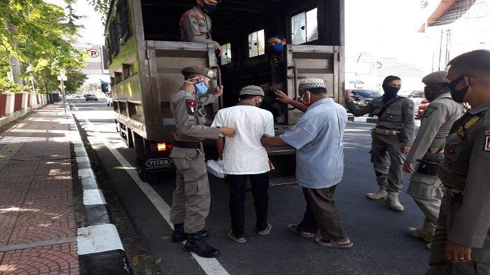 Pasca Satpol PP Razia Gepeng di Kota Padang, Terungkap Pengemis Ada Pemandunya