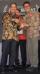 Pemerintah Provinsi Sumbar Cetak Hattrick Raih Penghargaan Indonesia Attractiveness Award 2019