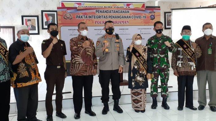 Duta Covid-19 Kota Pariaman Dibentuk, Ajak Warga Patuhi Protokol Kesehatan dan Ikut Vaksinasi