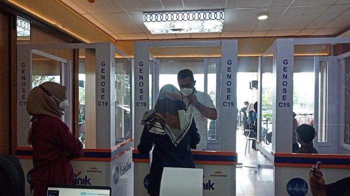 Mulai Hari Ini Bandara Internasional Minangkabau Terapkan Tes GeNose C19, Penumpang: Lebih Mudah
