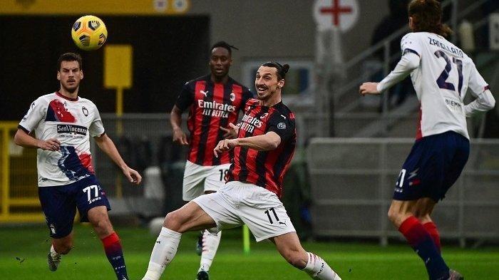 Alasan Pelatih AC Milan Stefano Pioli Ganti Zlatan Ibrahimovic Menit 75 Kala Dicukur Inter Milan