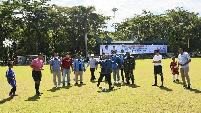 KNPI Padang Gelar KNPI Cup U-12 Tahun 2021, Diikuti 36 Clup Sepak Bola