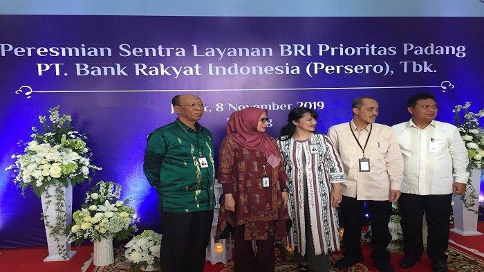 Bank BRI Tambah Sentra Layanan Prioritas di Kota Padang untuk Dorong Pertumbuhan Simpanan Nasabah