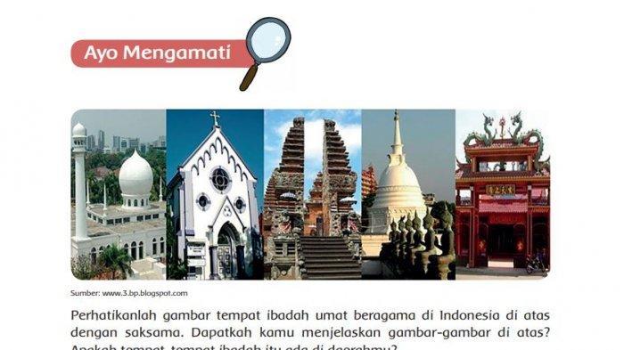 Tulislah Kembali Teks 'Keragaman Agama di Indonesia' dengan Bahasamu Sendiri