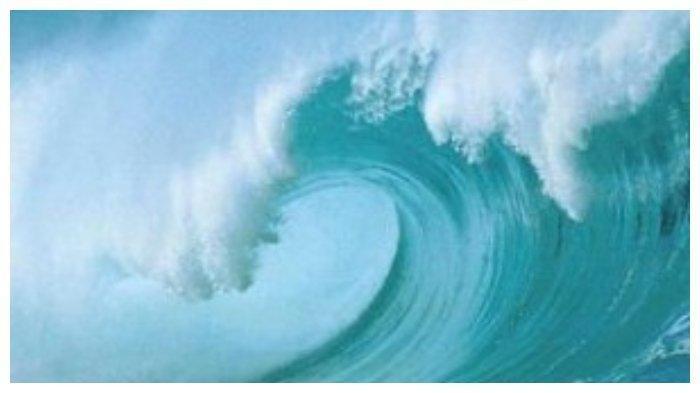 BMKG - Prakiraan Gelombang Perairan Sumatera Barat, Kamis 18 Februari 2021