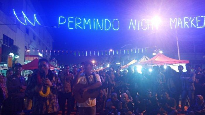 Permindo Night Market Pusat Kuliner Malam Terbaru di Kota Padang, Hanya Ada Sepekan Sekali