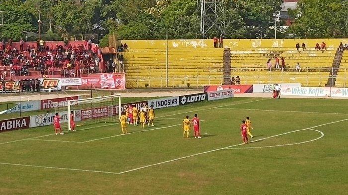 HASIL Semen Padang FC Vs Barito Putera, Kabau Sirah Kalah 2-3 di GOR H Agus Salim
