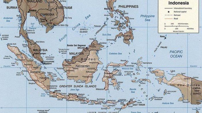 Letak Geografis Negara-negara Asia Tenggara dan Letak Astronomis Negara ASEAN
