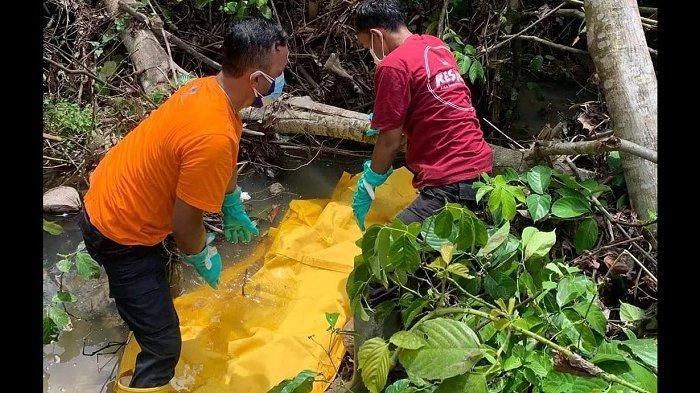 Mayat Perempuan di Pinggir Sungai Talang Padang Pariaman Dievakuasi, Kalaksa BPBD: Ada Bau Menyengat