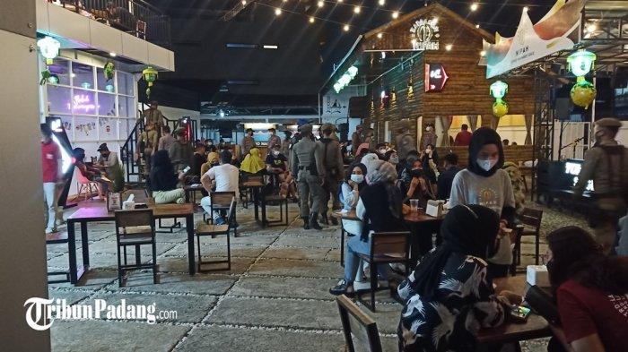 Polisi dan Satpol PP Padang Kembali Razia Masker, Jumat Malam Sasar Keramaian 4 Kecamatan