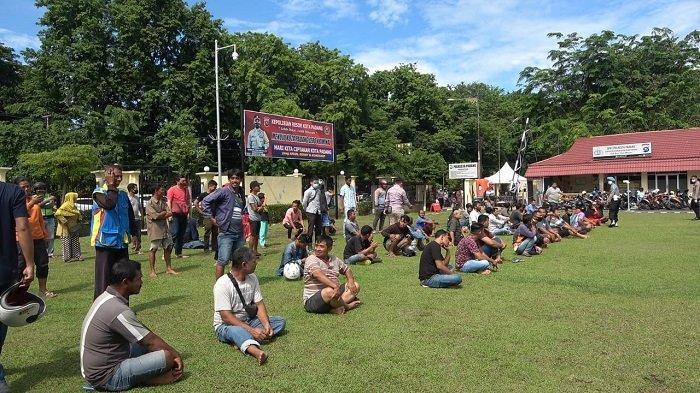 300 Warga Kota Padang Diamankan Petugas Gabungan karena Melanggar Protokol Kesehatan