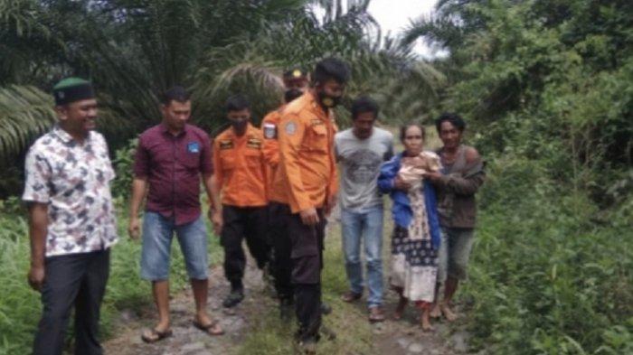Sempat Dilaporkan Hilang, Wanita di Pasaman Barat Ditemukan di Hutan, Begini Kondisinya