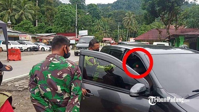 Bawa Baret TNI & Surat Wali Nagari, Warga Ini Tetap Dilarang Masuk Padang, Ternyata Mau Shoping