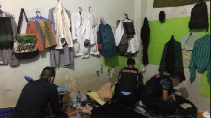 Razia di Rutan Kelas IIB Padang, Petugas Periksa Tiap Sudut Kamar Warga Binaan