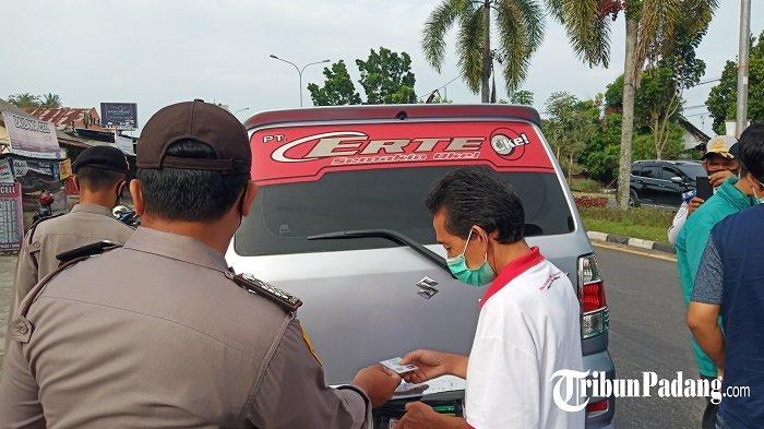 Hari Kedua Penyekatan PPKM Darurat di Padang Belum Maksimal, Alat Cek Suhu Belum Tersedia di Pos