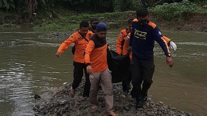 Korban Hanyut di Sijunjung Ditemukan 8 Km dari Lokasi Dilaporkan Hilang