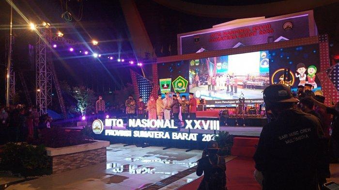 Sumbar Juara Umum MTQ Nasional 2020, Irwan Prayitno: Ini Jadi Kenangan Jelang Akhir Jabatan Saya