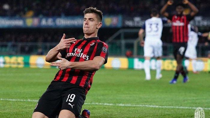 AC Milan Siapkan Tiga Pemain Alternatif Apabila Krzysztof Piatek Jadi Hengkang