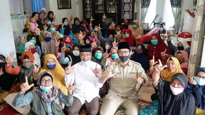 Paslon Erman-Marfendi Datangi Rumah Warga Setiap Hari, Janji Fasilitasi PKL di Kota Bukittinggi