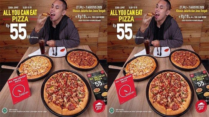 Berikut Deretan Kota yang Dapat Menikmati Promo All You Can Eat Pizza Hut Rp 55 Ribu Per Orang