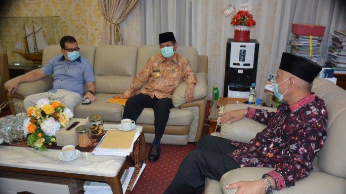 Pj Gubernur Sumbar Temui Gubernur Terpilih, Bicara Soal Pelantikan Bupati/Wako hingga Konsep Adm