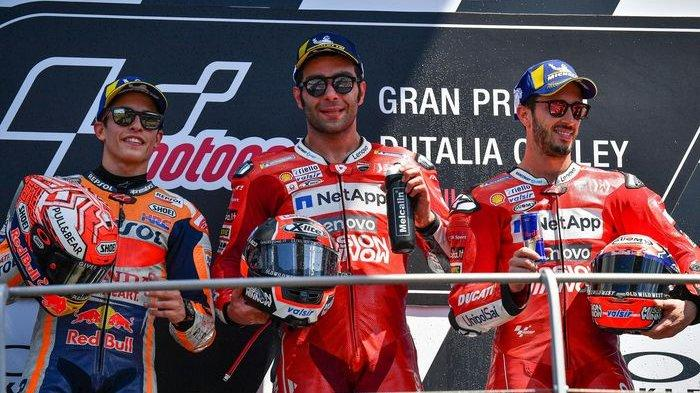 Danilo Petrucci Sesumbar Targetkan Masuk Tiga Besar Seri MotoGP Musim Ini