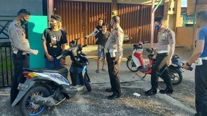 Remaja di Padang Kedapatan Balap Liar, 8 Motor Dikandangkan Sampai Bulan Agustus Mendatang