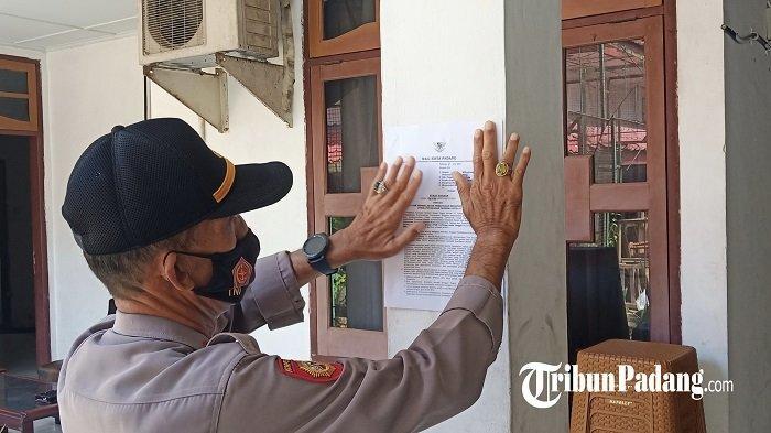 Update PPKM Mikro di Padang, Polisi Sebarkan Surat Edaran Wali kota ke Cafe dan Restoran