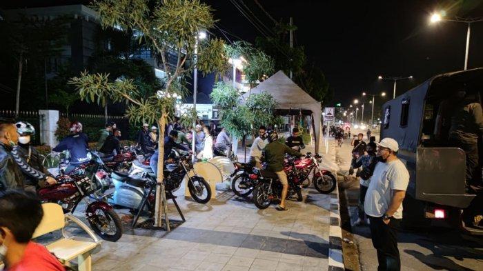 Balap Liar Marak Lagi di Padang, Ada 5 Titik Rawan Lokasi Balapan, Polisi Amankan 41 Sepeda Motor