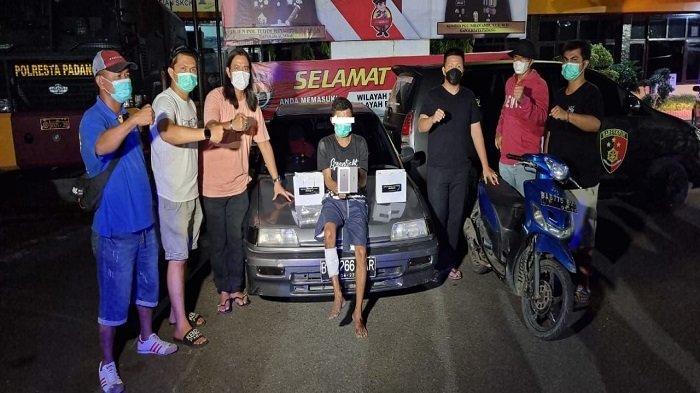 Polresta Padang Amankan Pencuri Emas, Liontin, dan Uang Tunai Rp 85 Juta di Padang