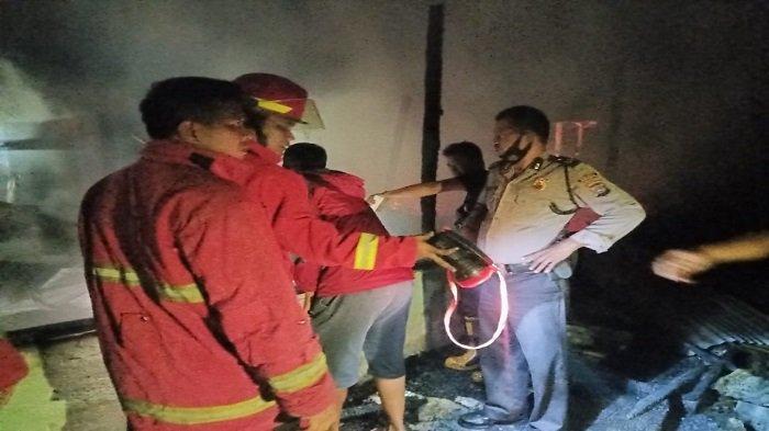 Pascakebakaran Rumah di Sungai Limau Padang Pariaman, Petugas BPBD Ingatkan Berhati-hati