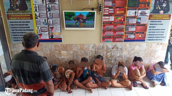 Ada Anak Tawuran Cengeng di Padang, Sok Jagoan di Jalanan, di Kantor Polisi Nangis-nangis