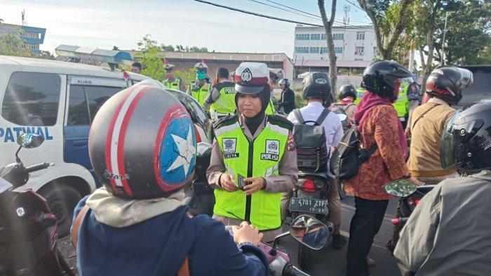 300 Pelanggar Terjaring Razia Operasi Patuh Singgalang di Padang, Paling Banyak Anak Bawah Umur