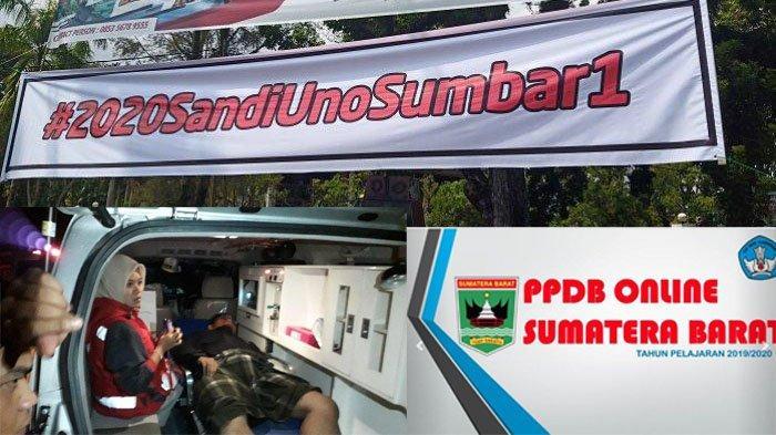 [POPULER SUMBAR] Spanduk #2020SandiUnoSumbar1, Tabrakan Kereta Api & Cara Lihat Hasil PPDB Online
