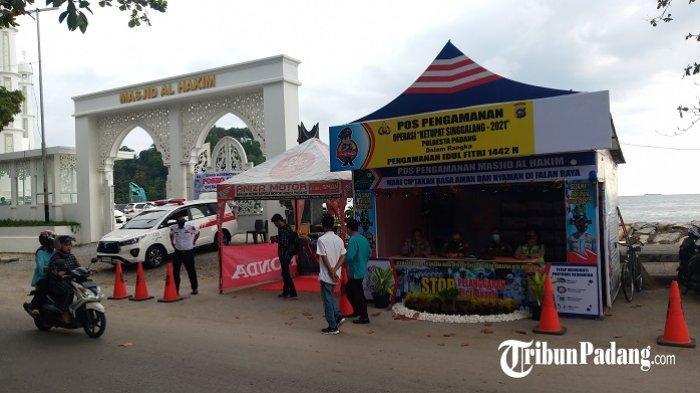 Ini Lokasi Pos Pengamanan dan Pos Pelayanan Operasi Ketupat Singgalang 2021 di Padang