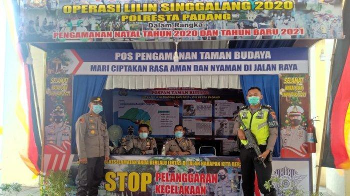 Inilah Lokasi Pos Pengamanan Natal dan Tahun Baru Selama Operasi Lilin 2020 di Padang