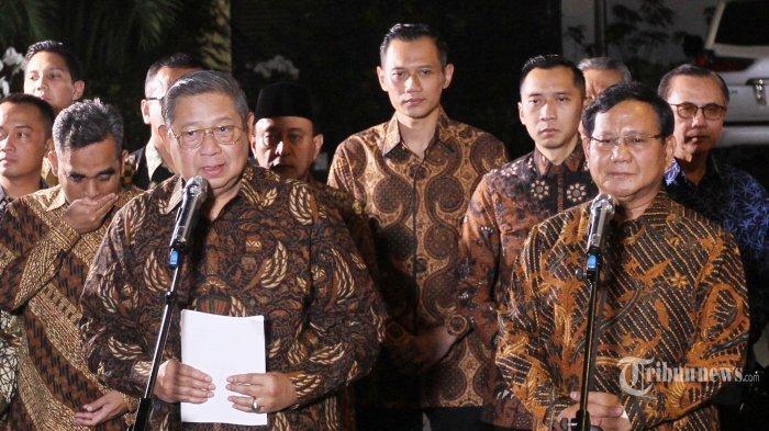 BERITA TERKINI: Prabowo-Sandi Akhirnya Gugat Hasil Pilpres ke MK, SBY: Saya Bersyukur dan Lega