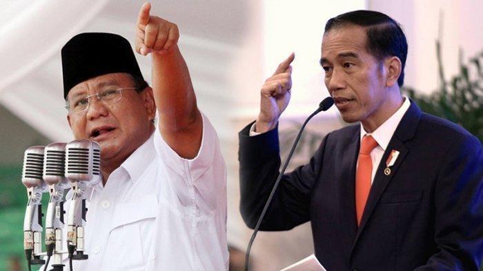 Survei Litbang Kompas,Jarak Elektabilitas Semakin Tipis, Jokowi-Ma'ruf Amin dan Prabowo-Sandiaga Uno
